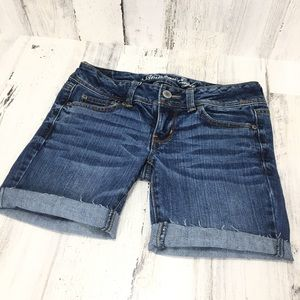 American Eagle Outfitters Cutoff Denim Shorts Sz 4